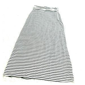 J.Crew stripped maxi skirt